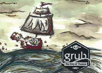 Grub - Ship of Theseus Cover